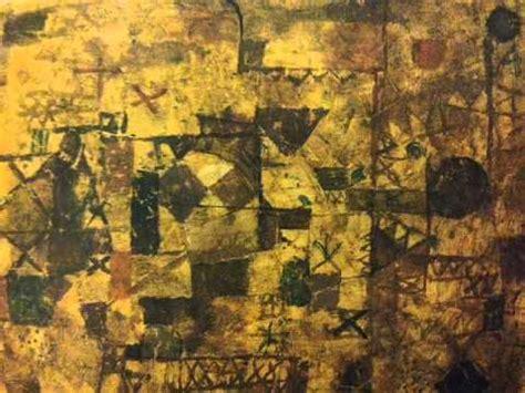 il tappeto il tappeto ricordo paul klee improvvisazione