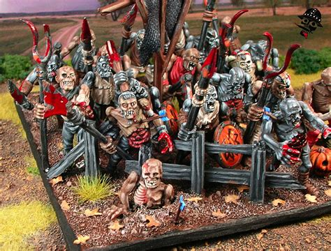 painting workshop zombies an hour of wolves shattered shields miniature gaming website