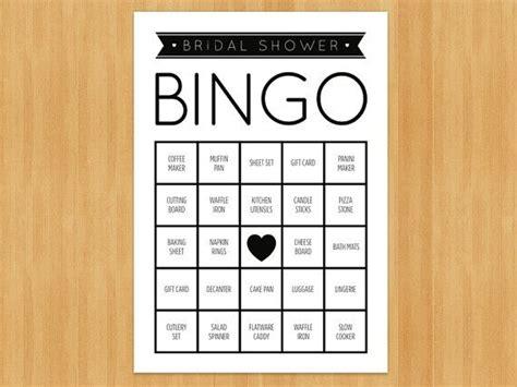 printable bridal shower bingo pdf printable bridal shower bingo game 60 cards in set diy