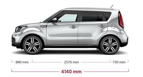 Kia Soul Size Kia Soul Specifications Features Kia Motors Uk