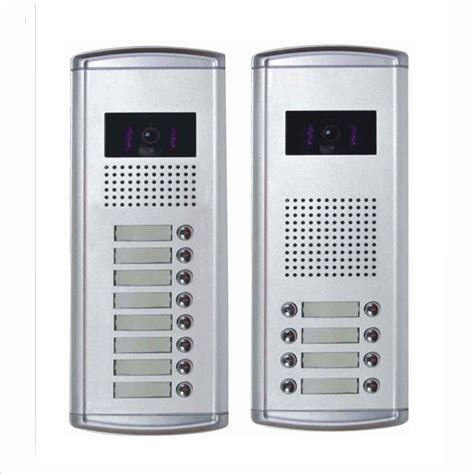 china door phone for 8 apartments china intercom
