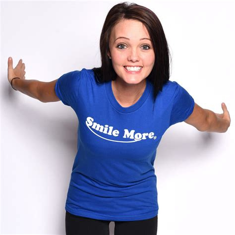 More T Shirt by Smile More T Shirts S From Romanatwood