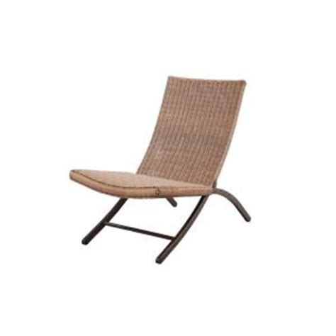 folding patio chairs home depot woven patio folding chair dy10103a 1 the home depot