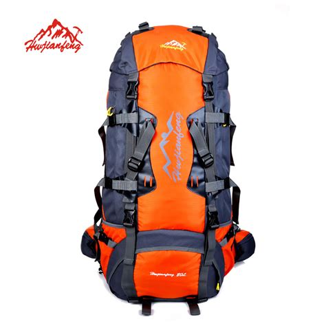New Ambeebaby Backpack Bag brand new backpack cing bag 80l big capacity professional hiking backpacks outdoor unisex