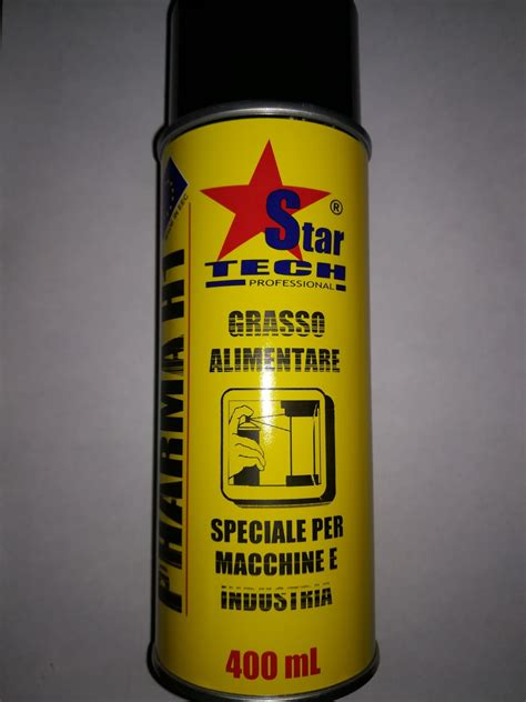 macchinari industria alimentare grasso alimentare per macchine e industria spray 400 ml