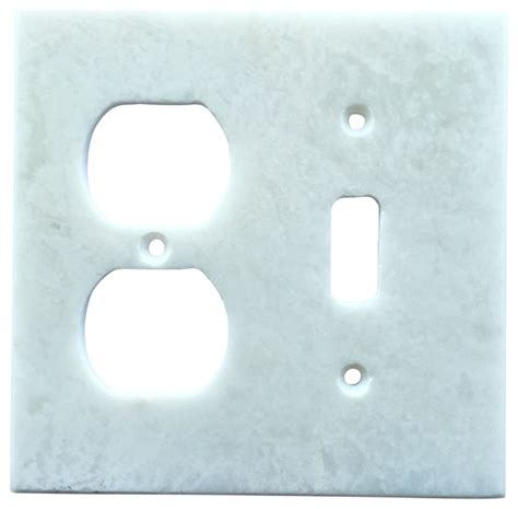 white marble meram blanc switch plate cover toggle duplex 4 5 quot x5 5 quot traditional switch