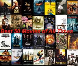 Top 50 best movies of all time dvd home theater