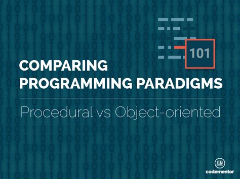 learn computer science with computation concepts programming paradigms data management and modern component architectures with and playgrounds books comparing programming paradigms procedural programming vs