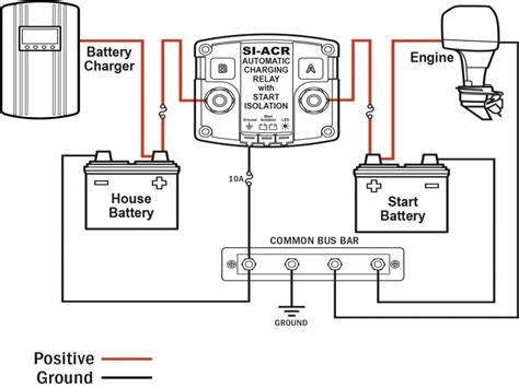 twin engine boat battery wiring diagram wiring forums - Boat Engine Battery