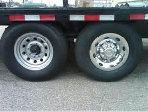 Trailer Tire Hub Cover 8 Inch Chrome Trailer Wheels On Popscreen