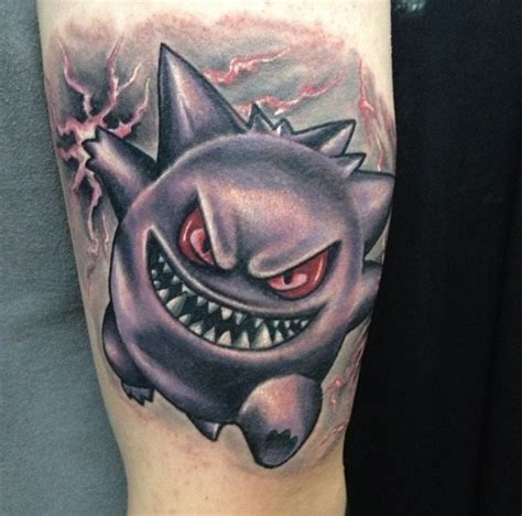 gengar tattoo tattoos truetattoos