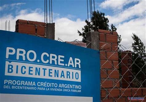 credito procrear 2016 el gobierno emite una letra en pesos para financiar el