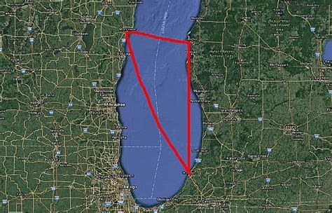 mysterious disappearances  michigans lake michigan triangle  real