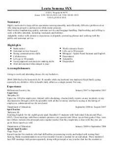 Workforce Specialist Sle Resume by Workforce Specialist 11 Resume Exle Arkansas Department Of Workforce Services Pine Bluff