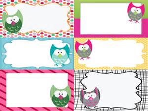 owl labels on pinterest owl name tags owl binder and owl word walls