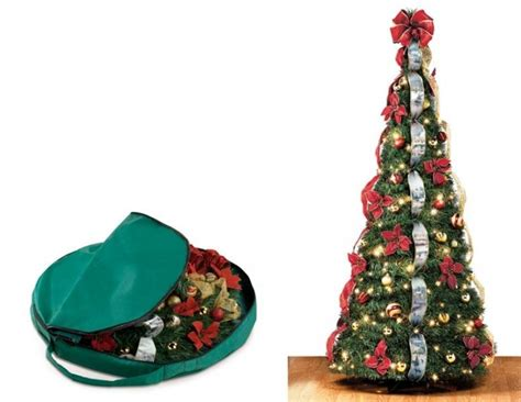 colapsing christmas tree collapsible tree b