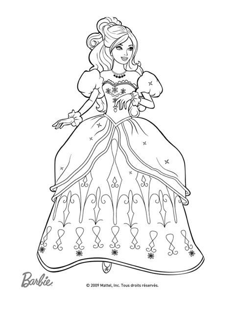 Dessin A Colorier Imprimer Princessel