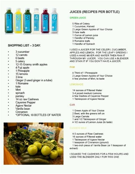 Juice Cleanse Recipes 3 Day Detox by Diy Blueprint Cleanse Recipes This Will Probably Be