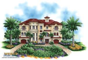 Mediteranian House Plans by Luxury Mediterranean House Plan Dal Mar House