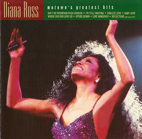 Cd Diana Ross The Greatest 2cd diana ross motown s greatest hits cd at discogs