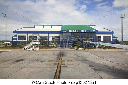 stock images of international airport jardines del rey of