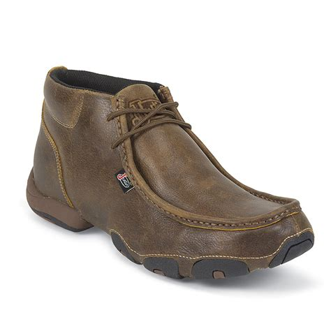 justin shoes justin s casual lace up moc toe shose boot barn