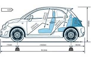Dimensions Of Fiat 500 Hire A Fiat 500 In Surrey Hshire And Kent