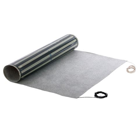 peel and stick quietwarmth 3 ft x 60 in x 0 03 in 240 volt peel and