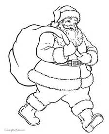santa coloring sheets coloring pages santa coloring home