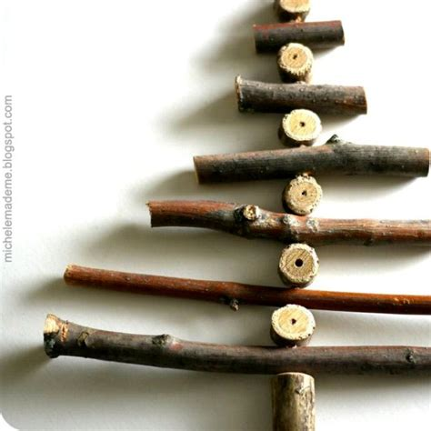 cool diy twiggy christmas trees to make with kids kidsomania