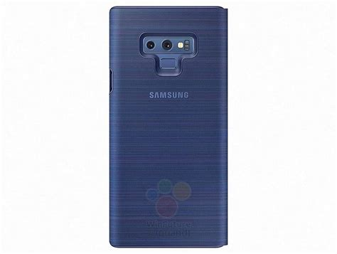 samsung galaxy note 9 led view silicone and protective standing cases leak