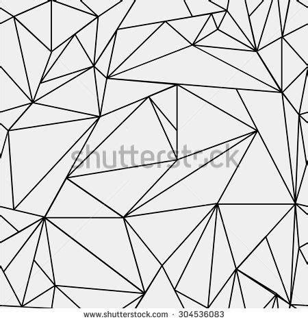 triangle pattern line geometric simple black and white minimalistic pattern