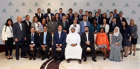 Georgetown Mba Sports Management by Georgetown Delegation Visit Qatar Petroleum