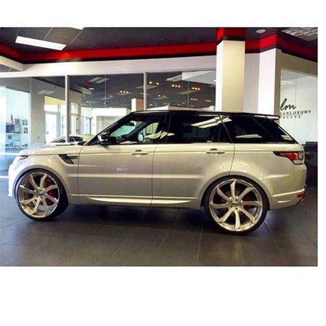 range rover autobiography rims instagram post by blac chyna blacchyna range rovers