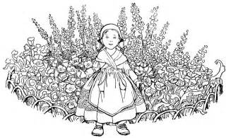 hard flower colouring pages