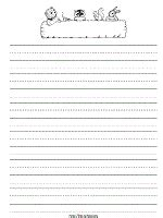 school themed writing paper seasonal and holidays printable lined paper for preschool