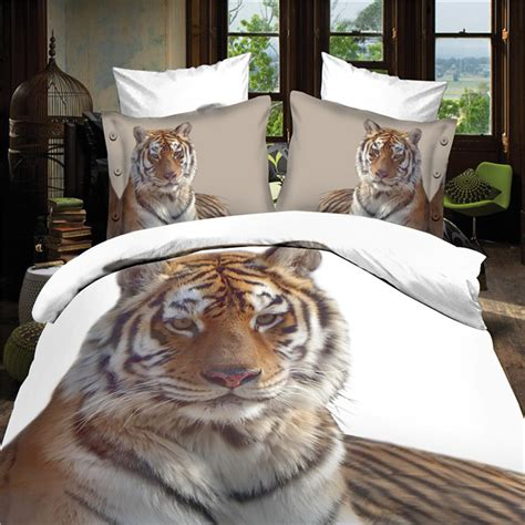 white tiger bed set get cheap white tiger bedding aliexpress alibaba