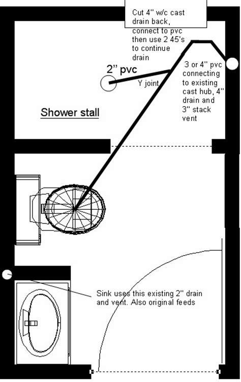 bathroom plumbing diagram concrete slab shower rough in plumbing diagram shower get free image