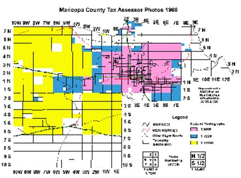 Maricopa County Property Records Maricopa County Tax Assessor Photos 1986 Index Map Asu