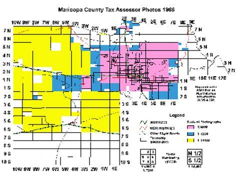 Maricopa Property Records Maricopa County Tax Assessor Photos 1986 Index Map Asu