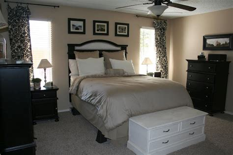 Black Ls For Bedroom by Bedroom Inspiration Beige Black And White Pinpoint