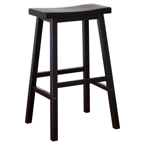 Saddle Seat Bar Stools by Winsome Wood 29 Inch Rta Single Saddle Seat Bar Stool