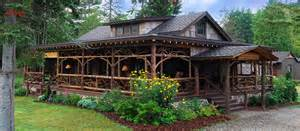 Small House Plans With Wrap Around Porches dartbrook lodge rustic luxury in the heart of the
