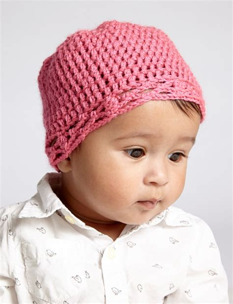 Baby Hat by Bernat Crochet Baby Hat Crochet Pattern Yarnspirations
