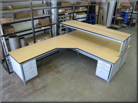 l shaped work bench l shaped tables at rdm industrial products
