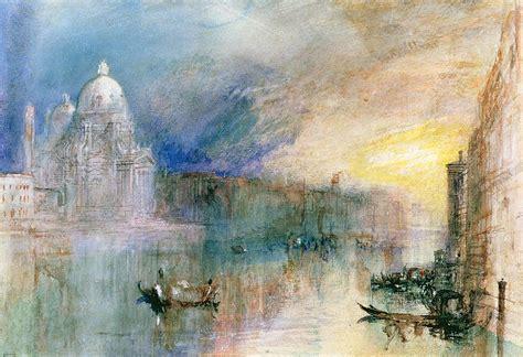 cuadros de turner venice grand canal with santa maria della salute painting