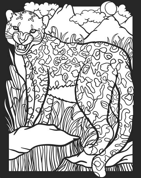 coloring pages of nocturnal animals childhood education