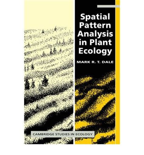 pattern analysis model spatial pattern analysis in plant ecology mark r t