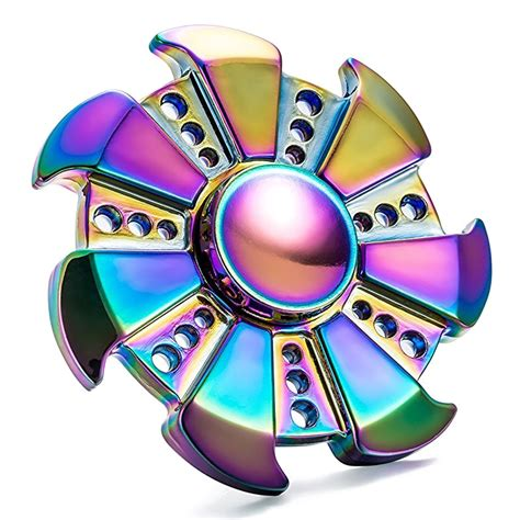 Fidget Spinner Transparent Led On Spinner Transpa Premium rainbow fidget spinner png image transparent png arts