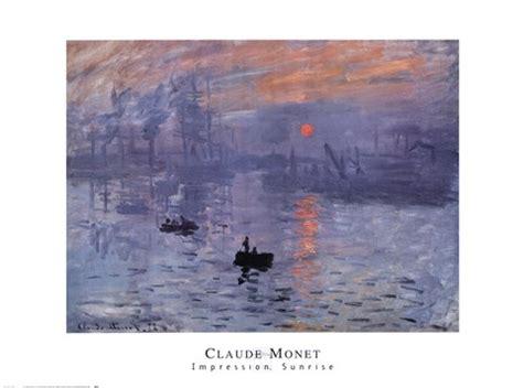 impression, sunrise, c.1872 (blue) fine art print by